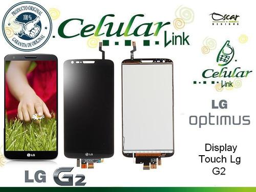 display touch, pantalla, tactil lg, g 2 instalado 802