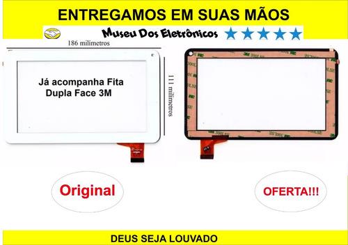 display + touch tablet dl pis-t71 7 093 multilaser original
