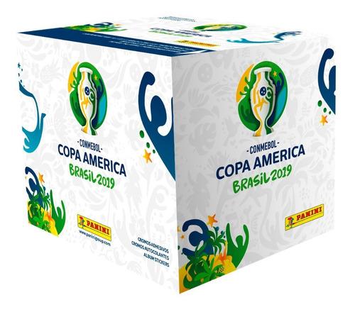 display x 50 sobres copa america brasil 2019 copa america 20
