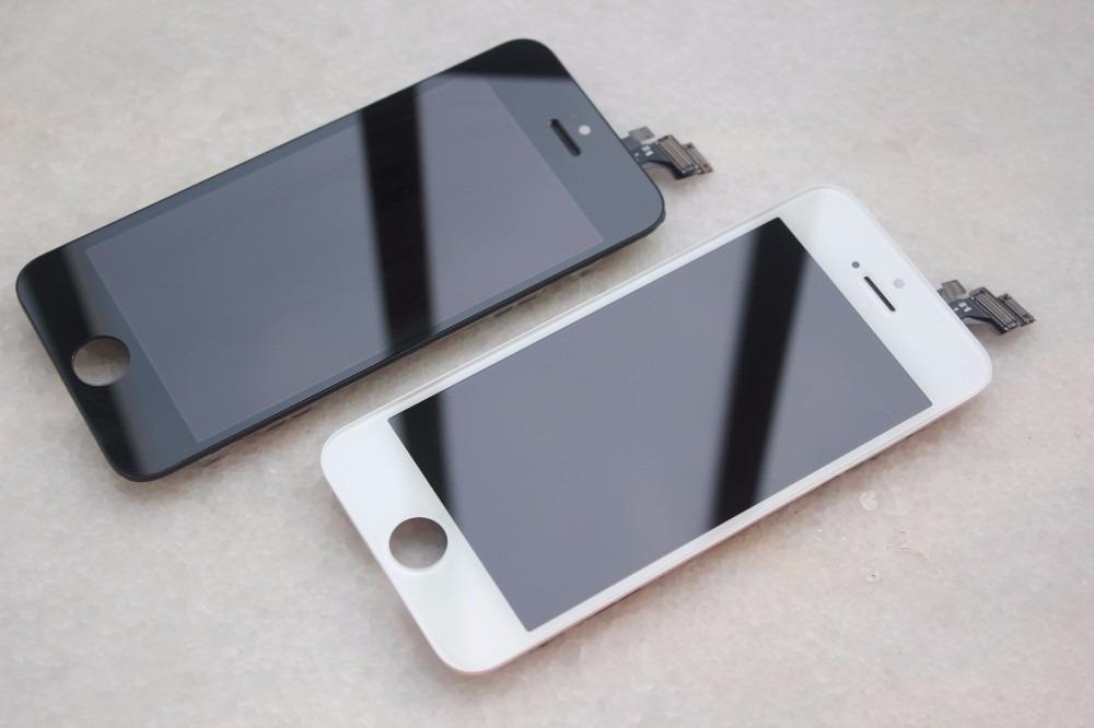 f7518fc923b Display Y Tactil Para iPhone 5 Blanco Y Negro Original - $ 59.990 en ...