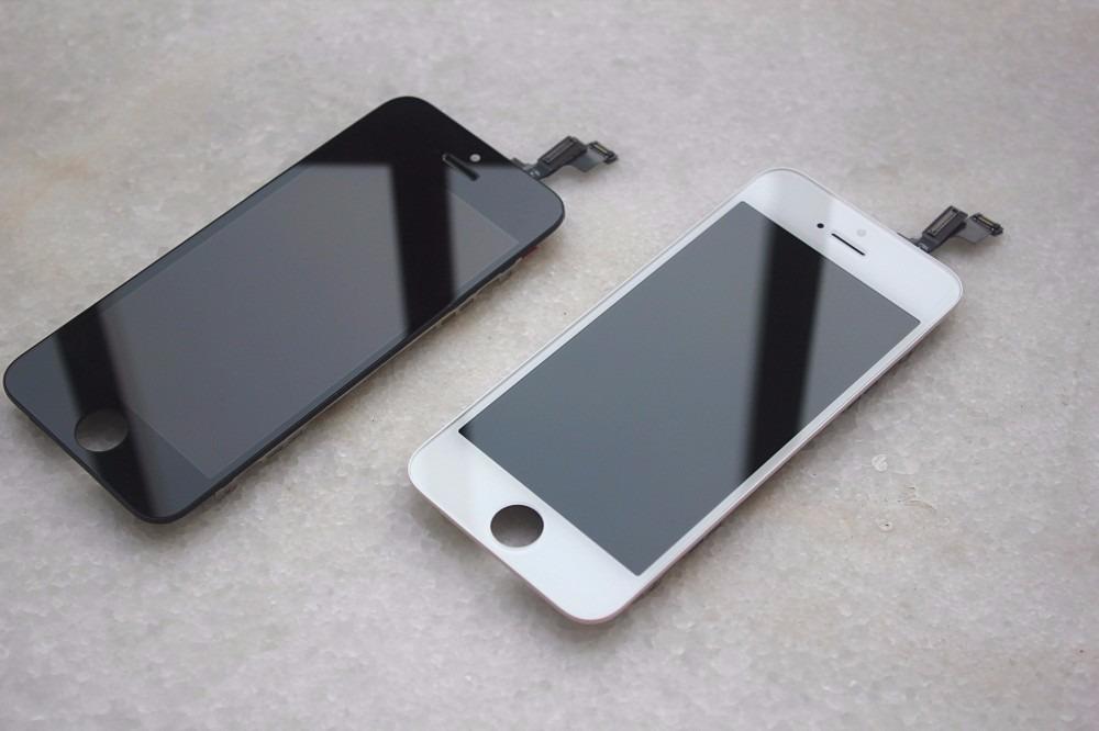 5999ed7d9bc display y tactil para iphone 5s blanco y negro original. Cargando zoom.