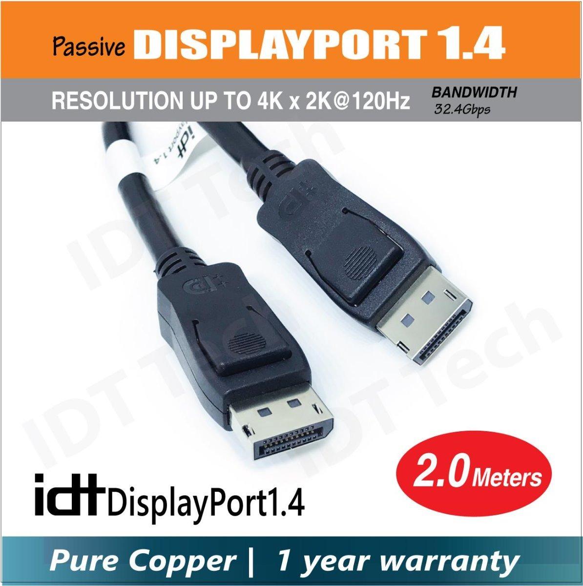 Displayport 1 4a 240hz Para Alienware Aw2518hf + Gtx 1070