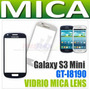 Mica Vidrio Samsung Galaxy S3 Mini I8190 Blanca Negra Azul