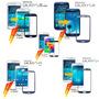 Mica De Pantalla Samsung Galaxy S3 S4 S5 Mini Instalada Ccs
