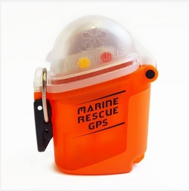 dispositivo de rescate gps + bolsa + funda - nautilus