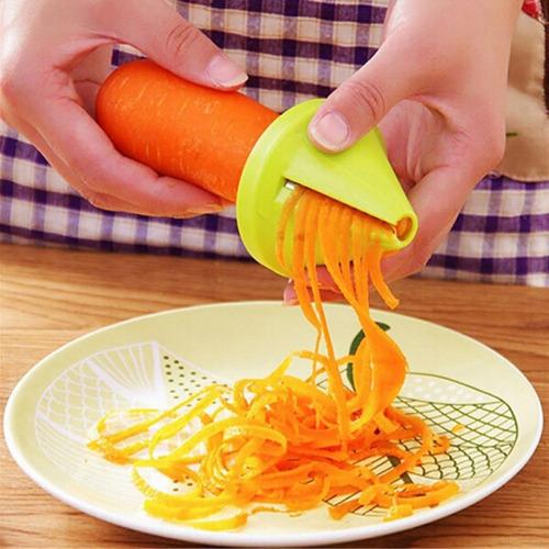 dispositivo espiral cortador triturador de vegetal 18 piezas
