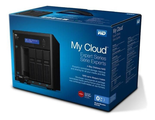 dispositivo externo wd my cloud ex4100 32tb 3.5  nas etherne
