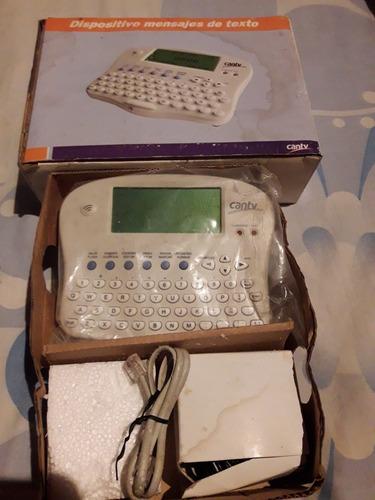 dispositivo mensaje de texto