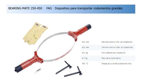 dispositivo para transportar rodamientos grandes