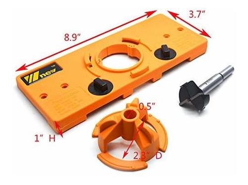 dispositivo perforador de tope 35mm26mm brocas con bisagras