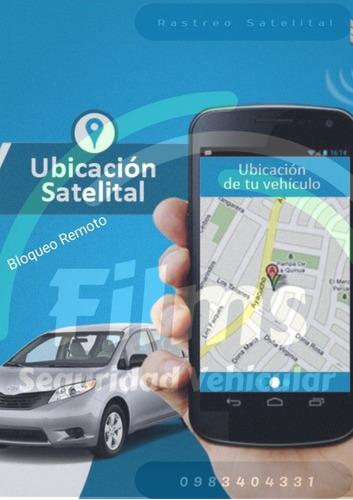 dispositivos de rastreo satelital instalado