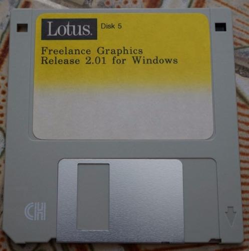 disquete lotus disk 5
