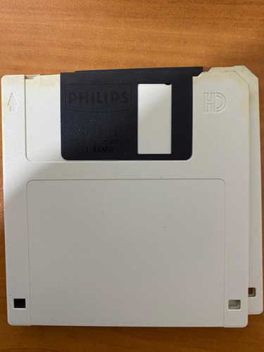 disquetes ibm formatted 1.44 mb marca philips colores
