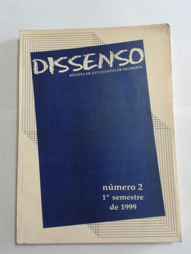 dissenso 2, revista de estudantes de filosofia usp / fflch