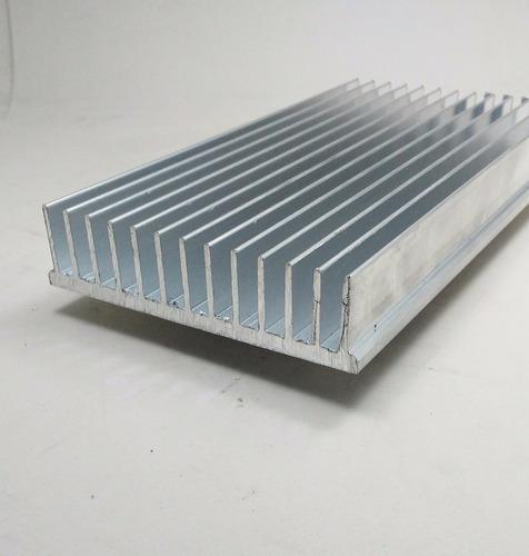 dissipador calor aluminio 10,4cm largura c/ 30cm