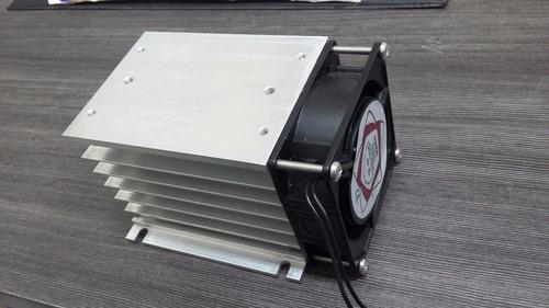 dissipador de calor com cooler ssr tripolar