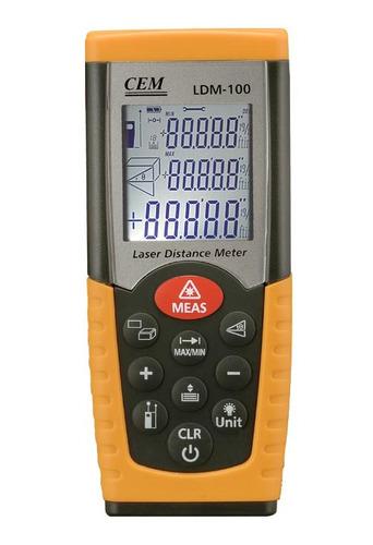 distanciometro laser cem ldm100 (50 mts)