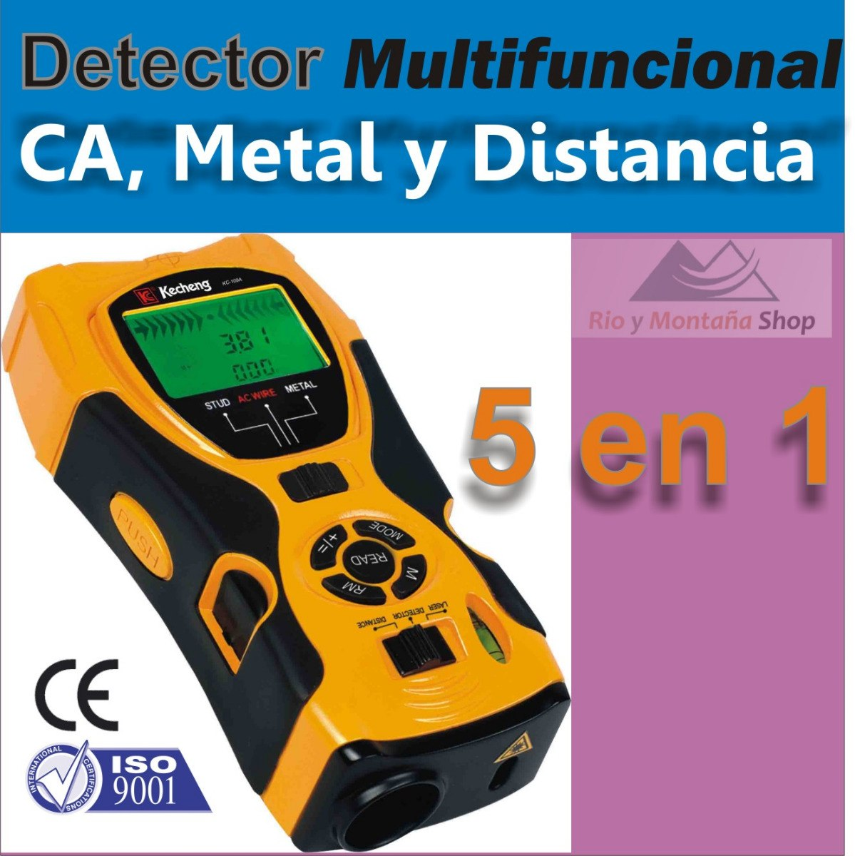 Distanciometro laser y detector de cables electricos y - Detector de cables ...