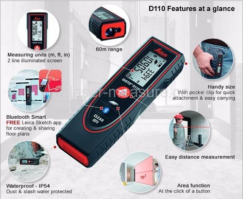distanciometro leica disto d110.laser.envio gratis
