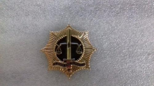 distintivo de metal direito civil dos direitos humanos