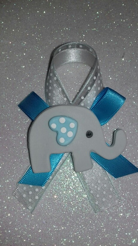 distintivo elefantito baby shower