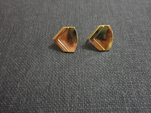 distintivo (insígnia) dourado de gola soldado - eb (par)