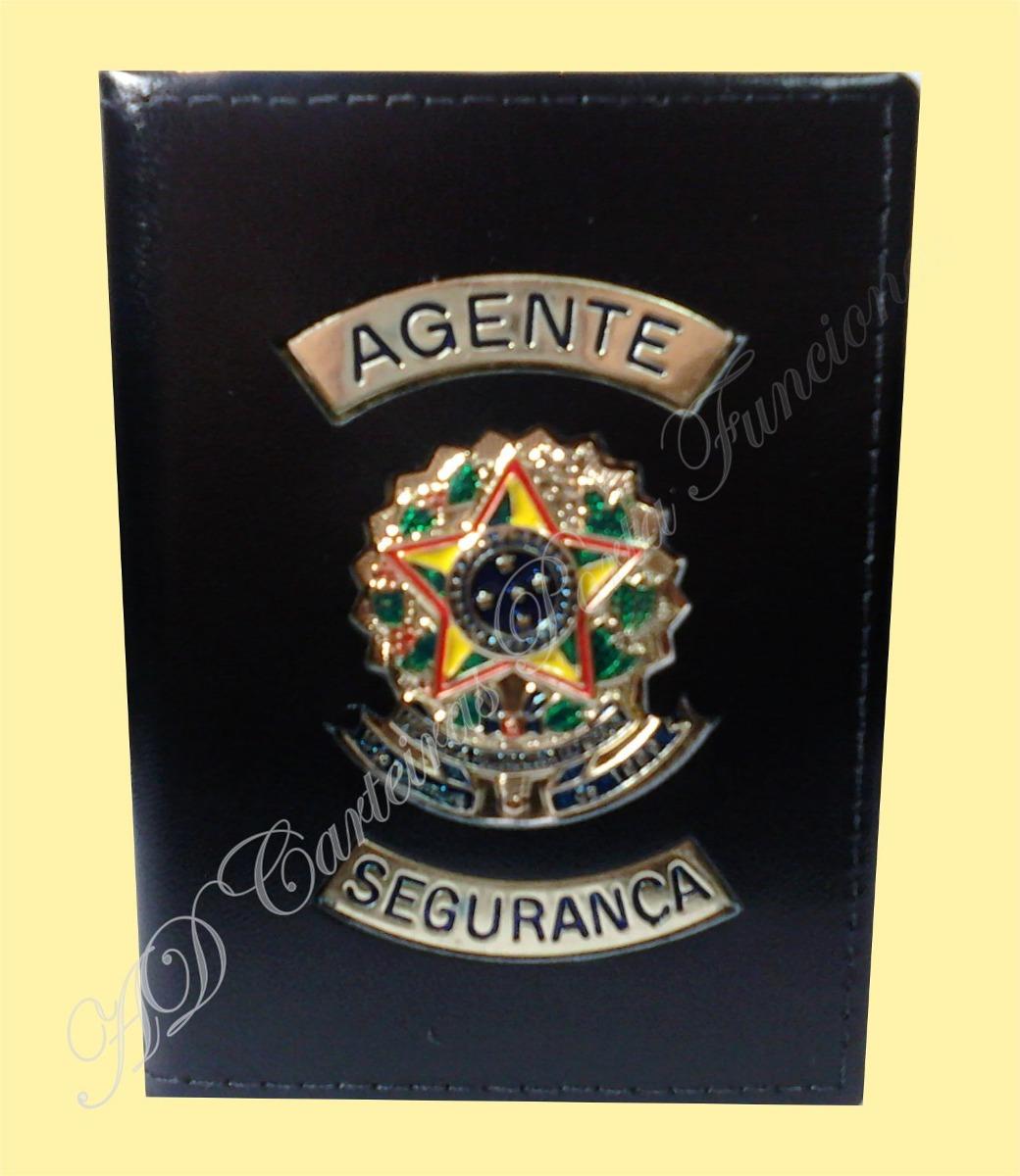 3340560a1 Distintivo Ou Carteira Agente Vigilante - Agente Segurança - R$ 89 ...