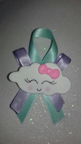 Decoracion De Nubes Para Baby Shower.Distintivo Corsage O Llavero Nube Baby Shower