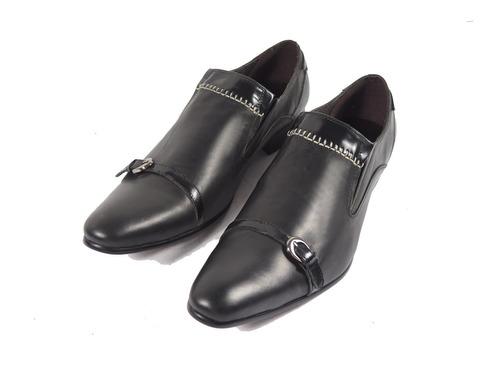 4e2b80b4b2b Priamo Hombre Hebilla Italy Punta Made Zapatos Distintos In qaPwx