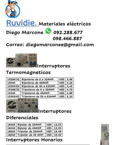 distribución de materiales eléctricos consulta por tus descu