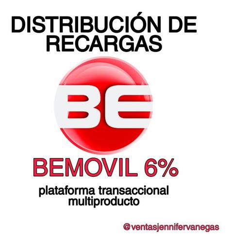 distribución de recargas