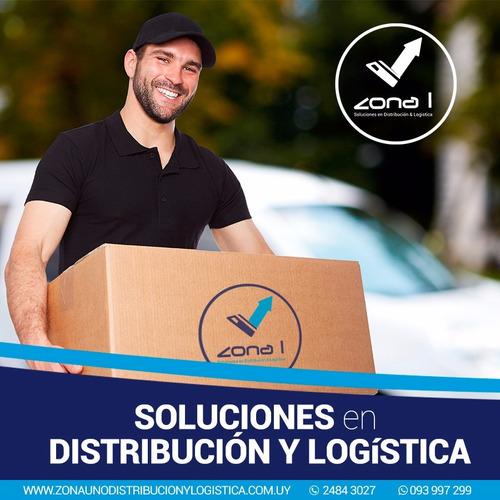 distribución, encomiendas, logística, zona 1