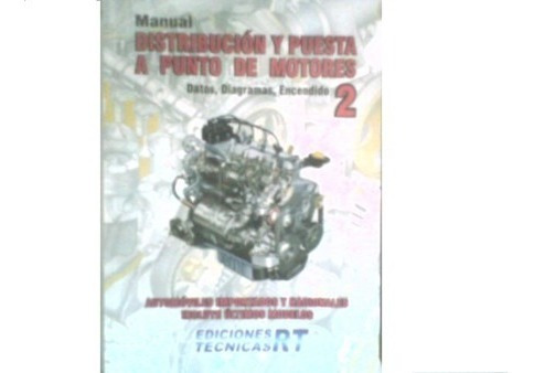 distribucion y puesta a punto de motores 5 tomos rt