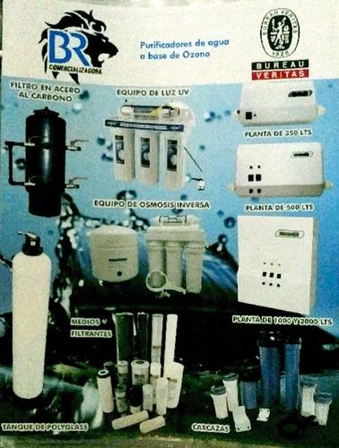 distribuciones y ventas en equipos para el agua