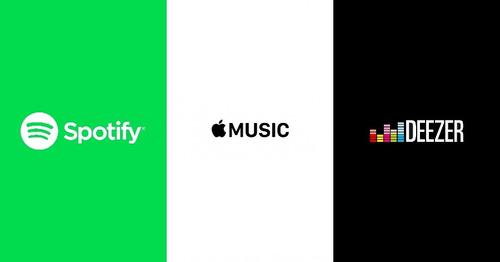 distribuição de músicas no spotify / deezer / apple music