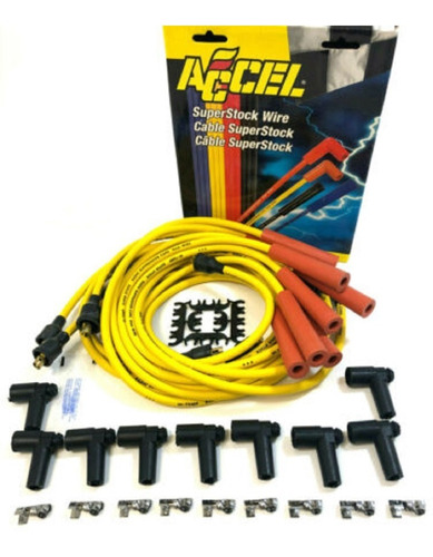 distribuidor chevrolet electronico racing red 350 cables