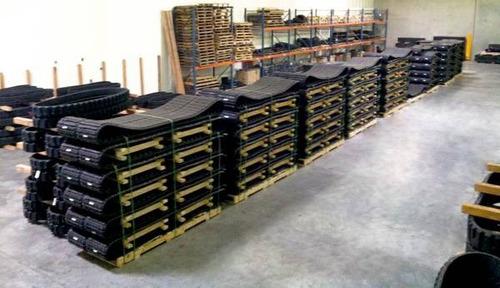 distribuidor de orugas de goma