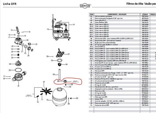 distribuidor dfr modelos dfr-11/ dfr-12/ dfr-12-4 (item-6)