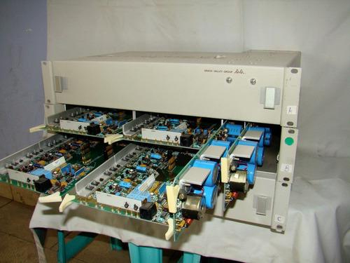 distribuidor e amplificador glass valley 8560 series - cada