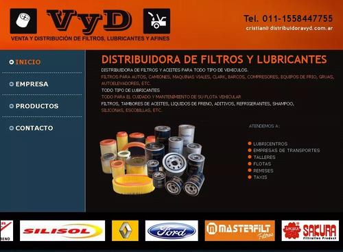 distribuidora de filtros y lubricantes