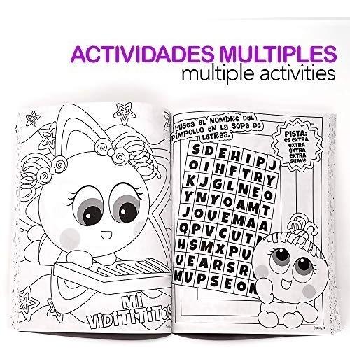Distroller Ksi Meritos Libro Para Colorear Interactivo 199 00