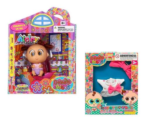 distroller muñeco atole + ropa de regalo