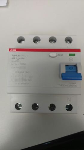 disyuntor diferencial abb 4x40 a 300 (0,3) ma