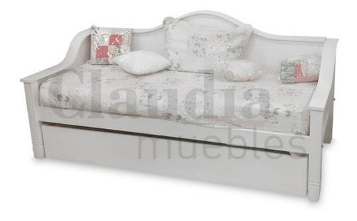 divan cama 1 una plaza dormitorio infantil laqueado respaldo