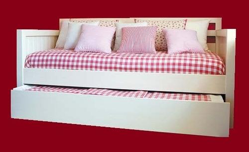diván cama pink - laqueado en poliuretano - calidad premium