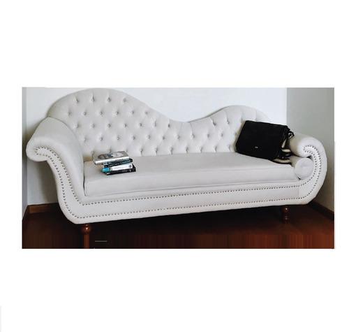 diván perla vintage  mueble perla sofa butaca juego de sala