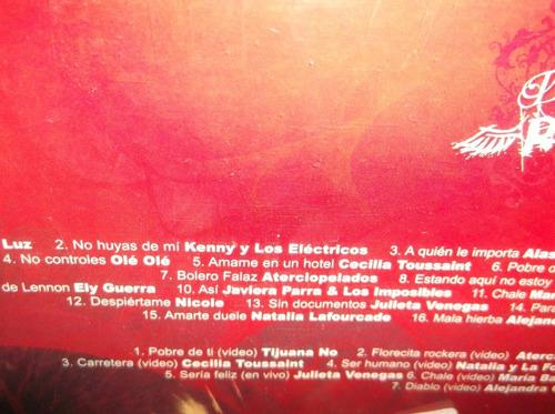 divas del rock cd + dvd sellado