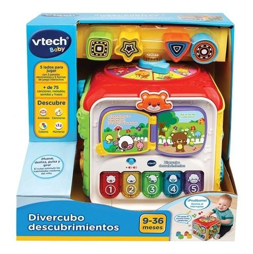 diver cubo descubrimientos vtech interactivo 75 sonidos