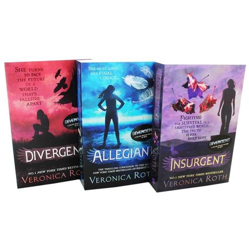 divergent box set ( los 3 libros en ingles ) - rincon 9