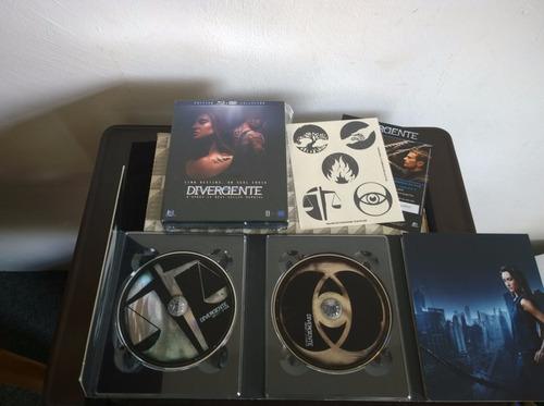 divergente bluray + dvd collector edition region a & b